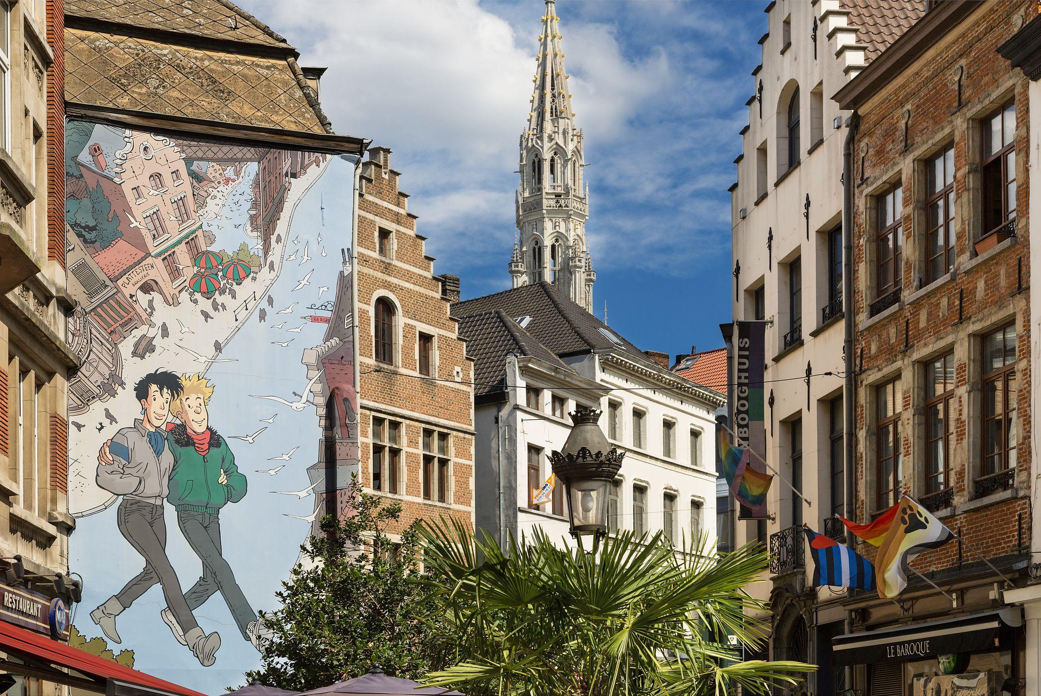 NGÀY 03 : PARIS - BRUSSELS(Ăn sáng, trưa)