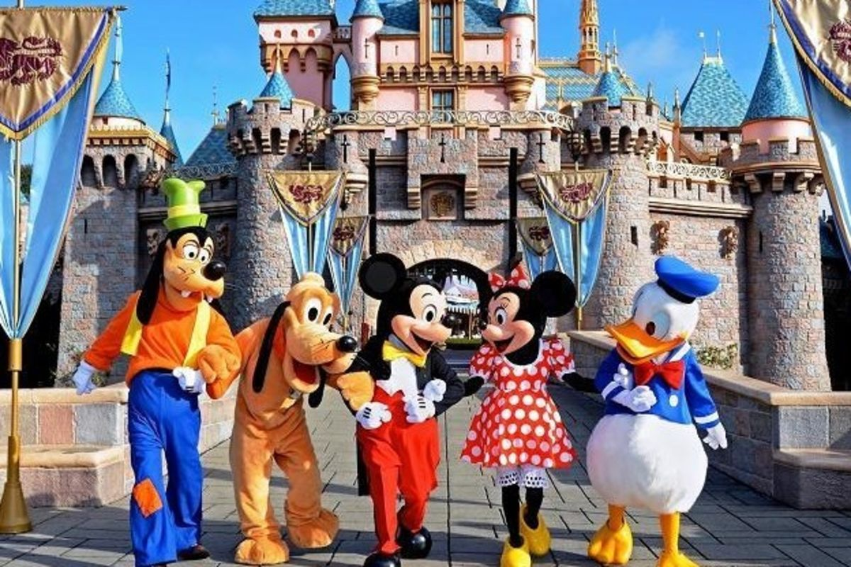 NGÀY 04 : 1 DAY TOUR DISNEYLAND - LOS ANGELES
